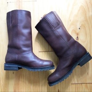 Timberland Brown Leather Waterproof Boots 8M